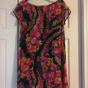 Floral Mumu Mini Dress